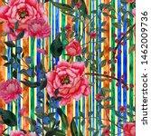 watercolor seamless pattern...   Shutterstock . vector #1462009736