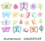 Butterfly Collection. Children...