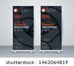 business roll up. standee... | Shutterstock .eps vector #1462064819