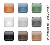 set of web square glossy... | Shutterstock .eps vector #146209454