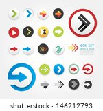 arrow icons design set   can be ...
