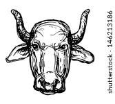 bull | Shutterstock .eps vector #146213186