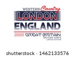london england typography ... | Shutterstock .eps vector #1462133576
