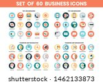 business icons set for business ... | Shutterstock .eps vector #1462133873