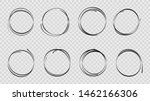 design sketch hand drawn circle.... | Shutterstock .eps vector #1462166306