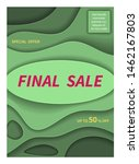 special offer final sale banner ... | Shutterstock .eps vector #1462167803