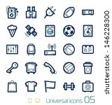 universal icons set perfect... | Shutterstock .eps vector #146228300