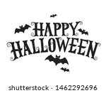 happy halloween vector... | Shutterstock .eps vector #1462292696