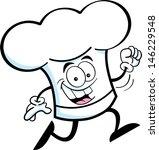 cartoon illustration of a chef... | Shutterstock .eps vector #146229548