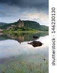 Eilean Donan Castle Reflecting...
