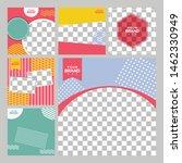 food social media post design...   Shutterstock .eps vector #1462330949