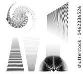 black abstract grunge vector...   Shutterstock .eps vector #1462336526