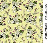 floral pattern with abstract...   Shutterstock .eps vector #1462360229