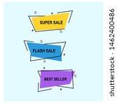 sale banner template.set of...   Shutterstock .eps vector #1462400486