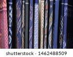 Thai Silk Pattern Show In Bar