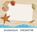 vector holiday card illustration | Shutterstock .eps vector #146266748