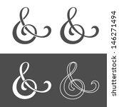 & - Custom ampersand for wedding invitation. Vector illustration