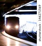 City Underground Metro Station...
