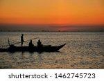 Fishing During Sunset In Manila ...