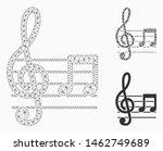 mesh musical notation model... | Shutterstock .eps vector #1462749689