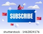email subscribe illustration...
