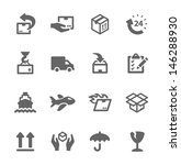simple icon set related to... | Shutterstock .eps vector #146288930