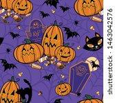 Vector Halloween Graveyard...