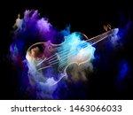 music dream series. background... | Shutterstock . vector #1463066033