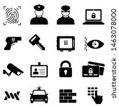 Security  Safety And Crime Icon ...