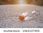 Bottle Plastic Outdoor On The...