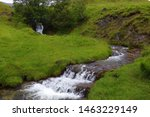 Scottish Waterfall Near...