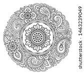 circular pattern in form of...   Shutterstock .eps vector #1463239049