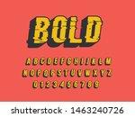 font. modern typography bold ... | Shutterstock .eps vector #1463240726