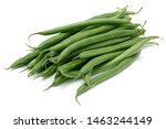 Fresh Green Beans Isolated On...