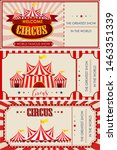 circus  fun fair  amusement... | Shutterstock .eps vector #1463351339