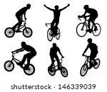 vector silhouette shapes... | Shutterstock .eps vector #146339039