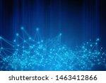neuron plexus brain  futuristic ... | Shutterstock . vector #1463412866