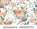 Beautiful Seamless Pattern With ...