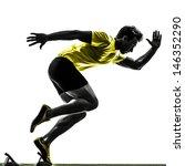 one caucasian man young... | Shutterstock . vector #146352290