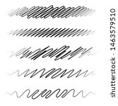 squiggle   squiggly wavy line... | Shutterstock .eps vector #1463579510
