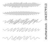 squiggle   squiggly wavy line... | Shutterstock .eps vector #1463579513