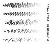 squiggle   squiggly wavy line... | Shutterstock .eps vector #1463579519