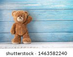 Cute teddy bear with copy space ...