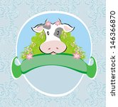 agriculture,animal,beef,bezel,bull,cattle,cow,domestic,farm,flowers,food,frame,graphic,grass,ground