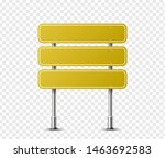 realistic rectangle traffic... | Shutterstock .eps vector #1463692583