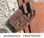 the object is a lock  more...   Shutterstock . vector #1463705633
