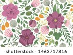 Vector Floral Seamless...