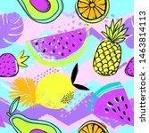 fashion tropics funny... | Shutterstock .eps vector #1463814113