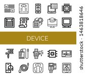 set of device icons such as... | Shutterstock .eps vector #1463818646