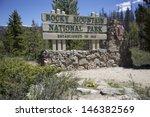 Rocky Mountain National Park...